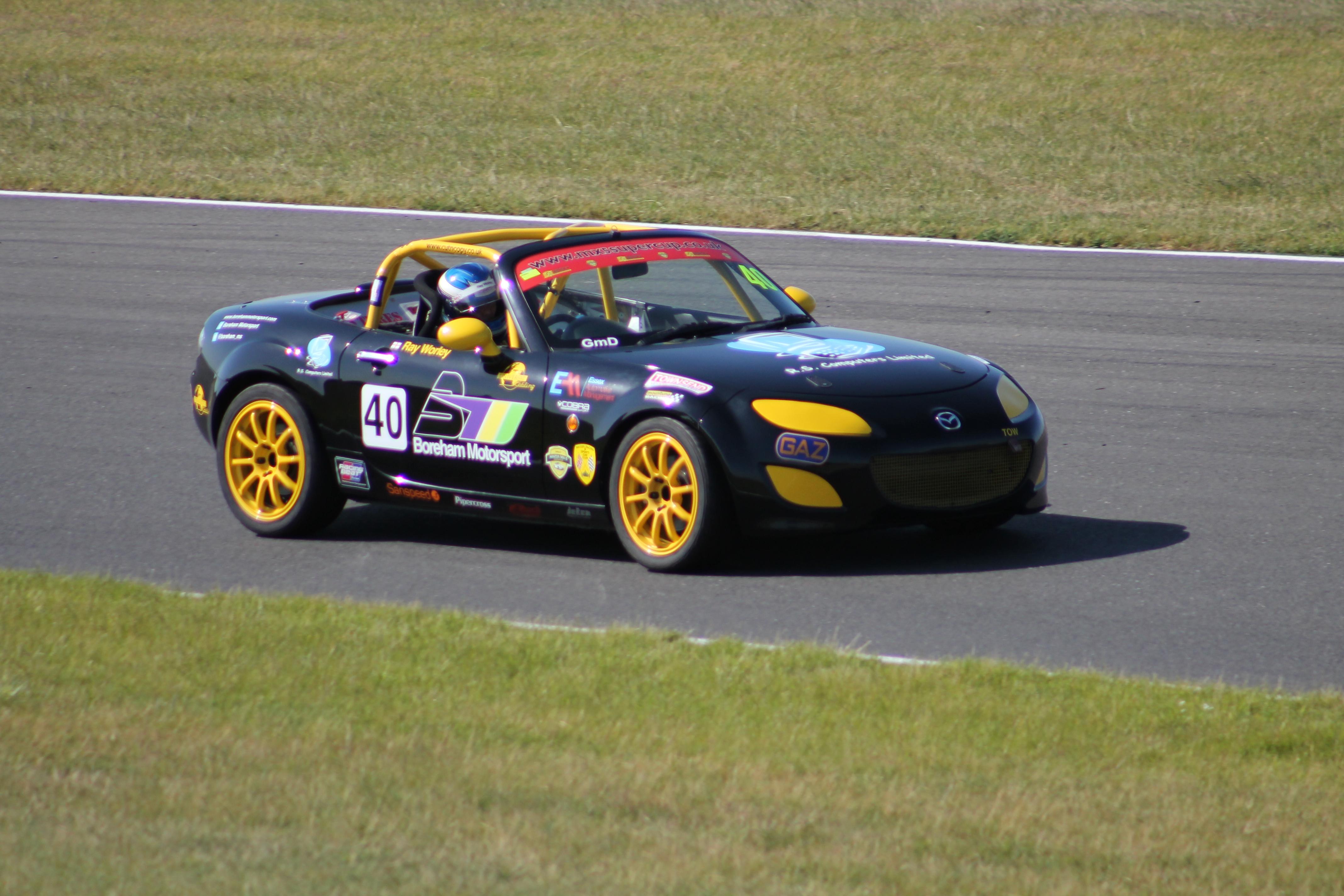 Snetterton BRSCC MX-5 SuperCup 2015