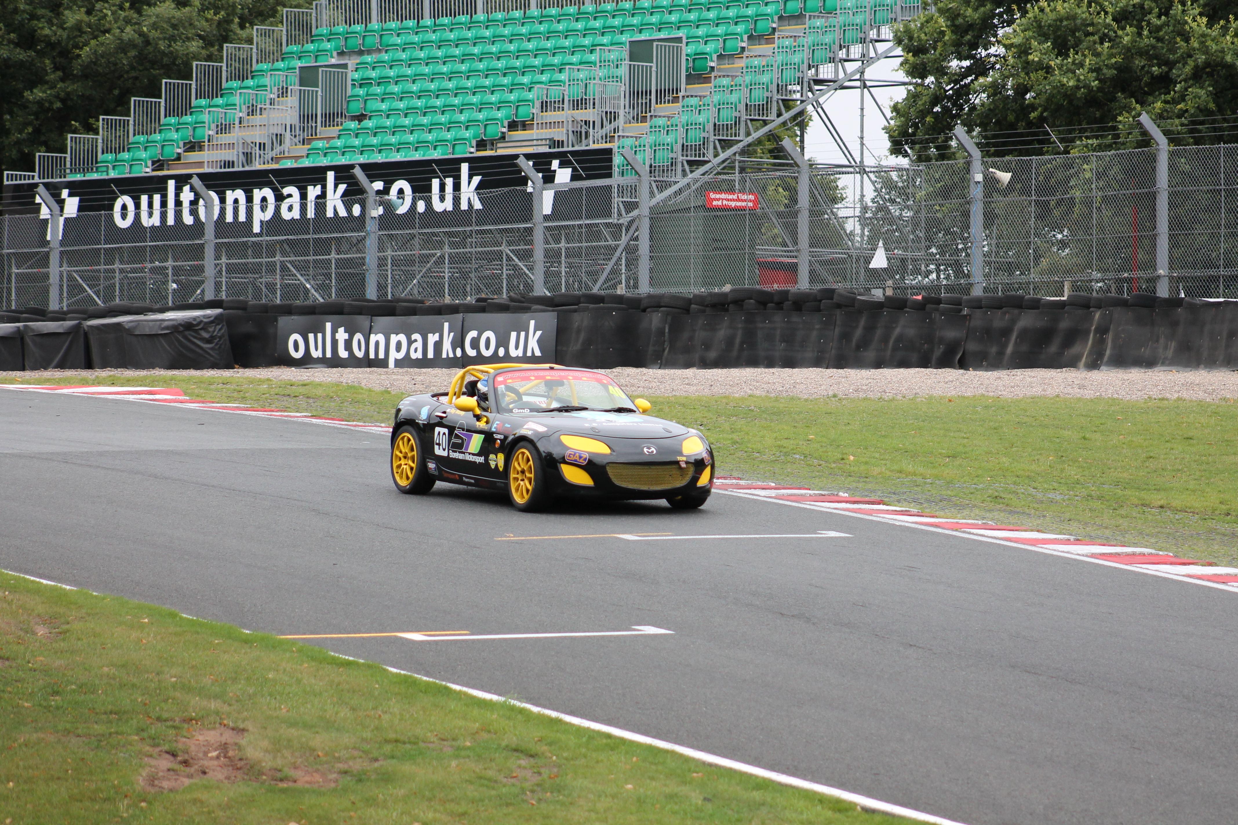 Oulton Park BRSCC MX-5 SuperCup 2015
