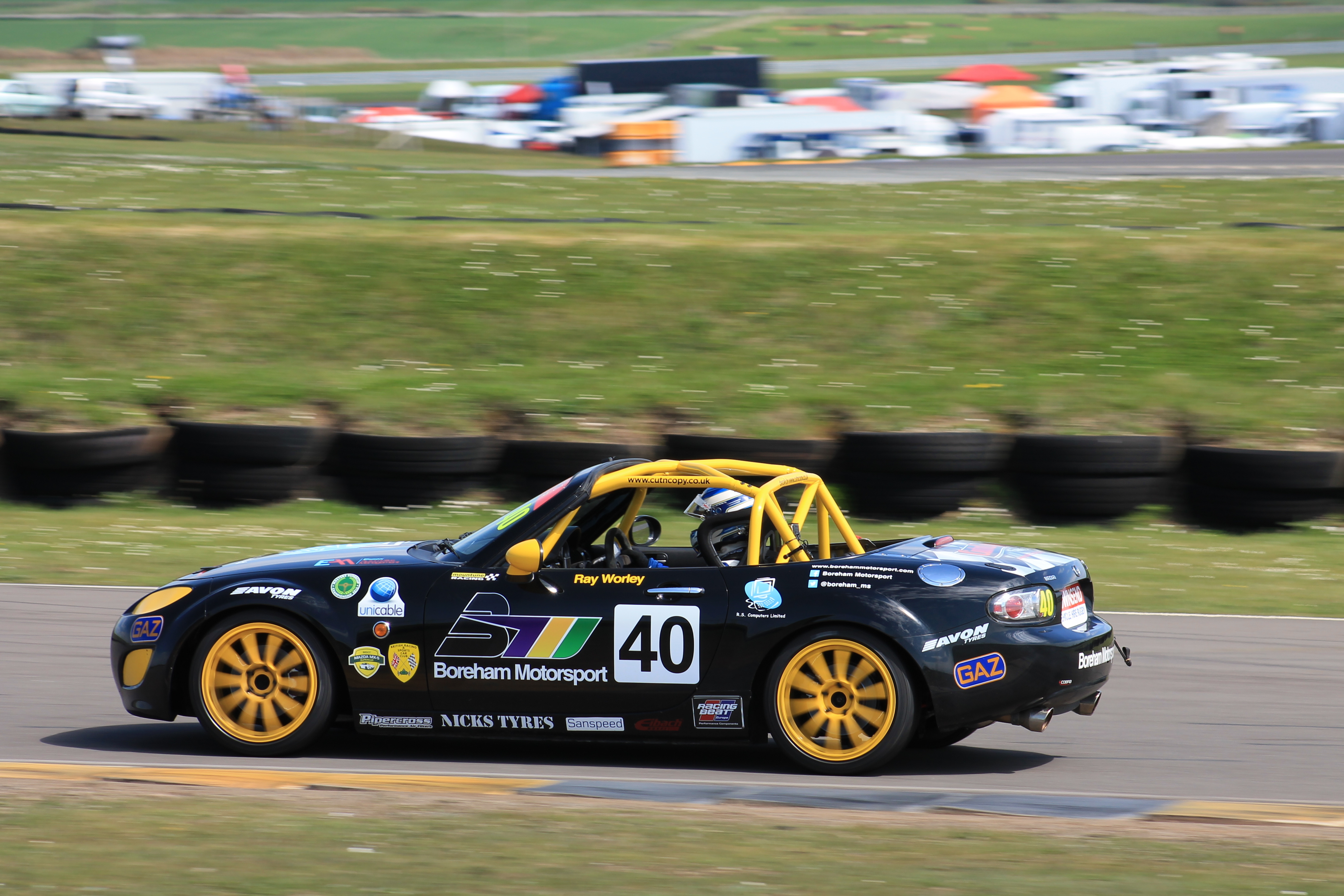 Anglesey BRSCC MX-5 SuperCup 2016