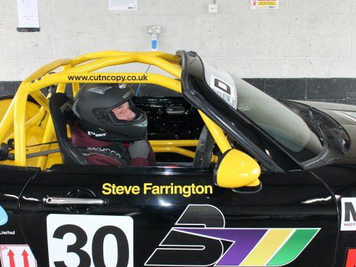 Steve Farrington Snetterton Track Day April 2021